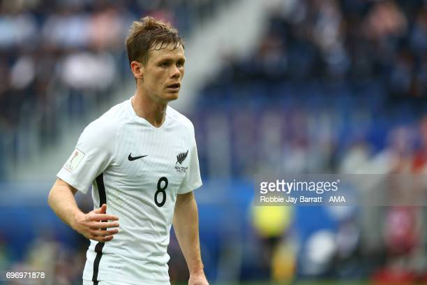 Michael McGlinchey of New Zealand during the Group A FIFA Confederations Cup Russia 2017 match between Russia and New Zealand at Saint Petersburg...