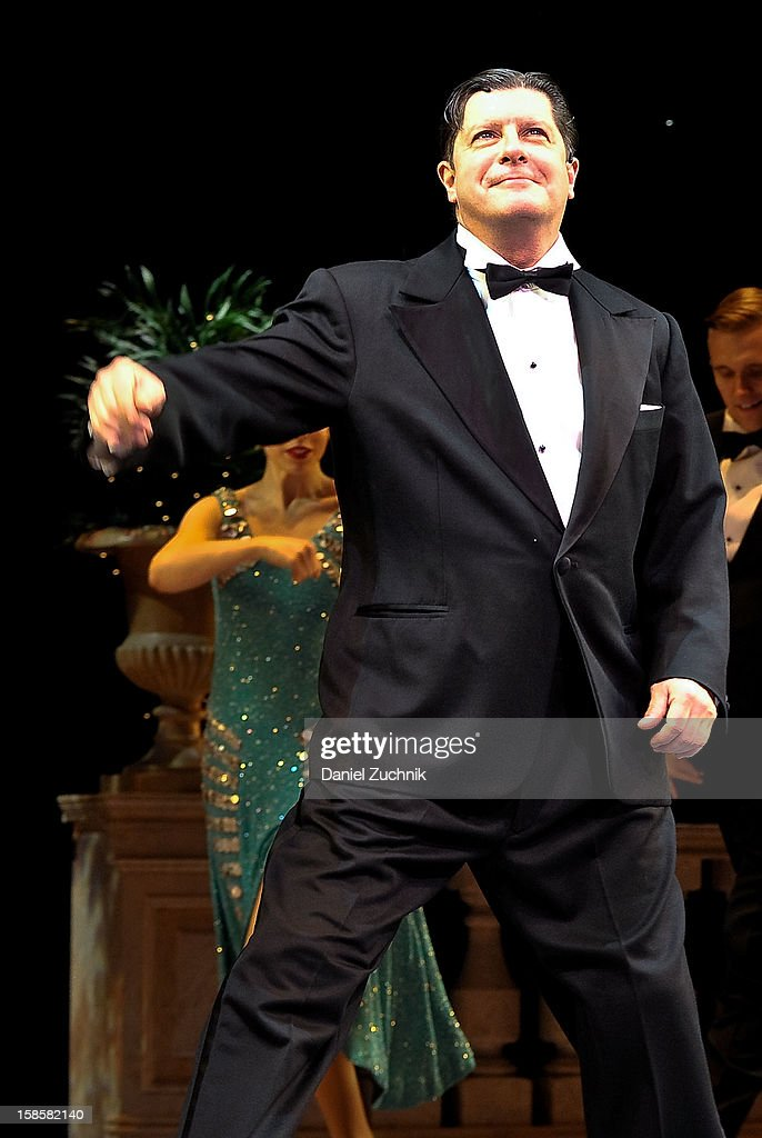 Michael McGrath attends the 'Nice Work If You Can Get It' Broadway curtain call at Imperial Theatre on December 19, 2012 in New York City.
