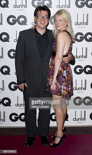 Michael Mcintyre And Kitty Mcintyre At The 2011 Gq Men Of The Year Awards At The Royal Opera House Covent Garden London