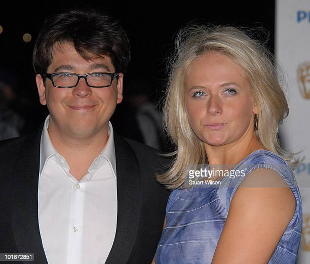Michael Mcintyre and Kitty Mcintyre attend the after party for the Philips British Academy Television awards at Natural History Museum on June 6 2010...