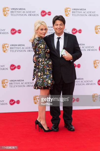 Michael McIntyre and Kitty McIntyre attend the Virgin Media British Academy Television Awards ceremony at the Royal Festival Hall on 12 May 2019 in...