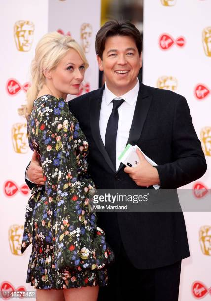 Michael McIntyre and Kitty McIntyre attend the Virgin Media British Academy Television Awards 2019 at The Royal Festival Hall on May 12 2019 in...