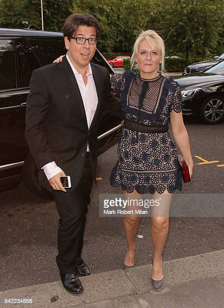 Michael McIntyre and Kitty McIntyre attending the Victoria and Albert Museum Summer Party on June 22 2016 in London England