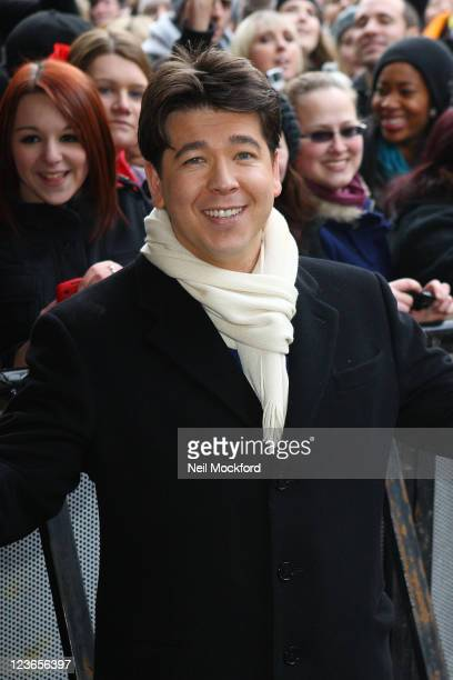 Michael McIntyre arrives at the HMV Hammersmith Apollo for 'Britain's Got Talent' auditions on January 4, 2011 in London, England.