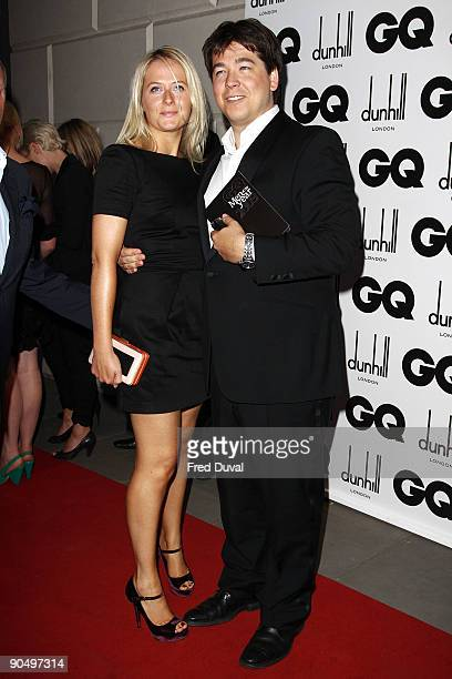 Michael Mcintyre arrives for the 2009 GQ Men Of The Year Awards at The Royal Opera House on September 8, 2009 in London, England.
