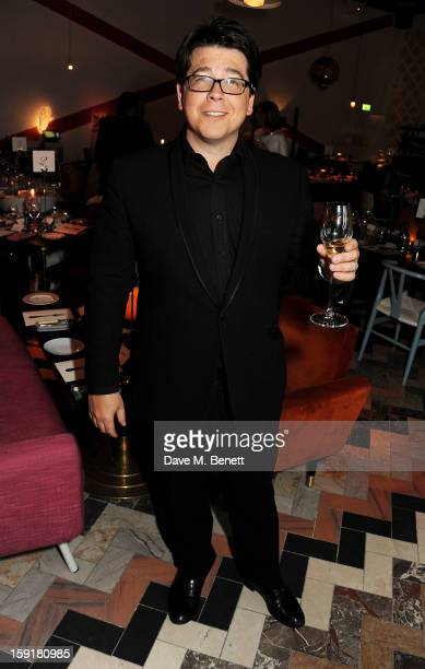 Michael McIntyre attends a private dinner hosted by Sir Paul Smith, Tinie Tempah and GQ editor Dylan Jones to celebrate London Collections: MEN AW13...