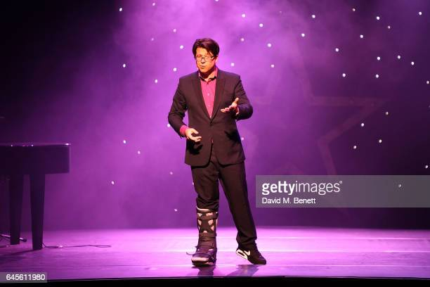 Michael McIntyre attends the 100 Hearts charity gala in aid of the Royal Brompton & Harefield Hospitals charity on February 26, 2017 in London,...
