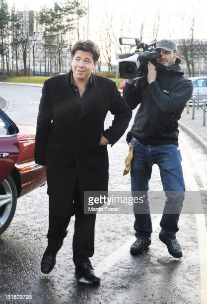 Michael McIntyre attends the auditions of Britain's Got Talent at SECC on January 18, 2011 in Glasgow, Scotland.