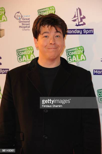 Michael McIntyre attends the Channel 4 Comedy Gala in aid of Great Ormond Street at 02 Arena on March 30, 2010 in London, England.