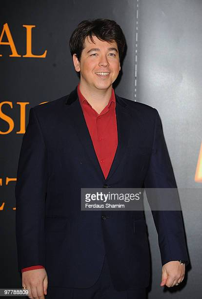 Michael McIntyre attends the RTS Programme Awards 2009 at The Grosvenor House Hotel on March 16, 2010 in London, England.