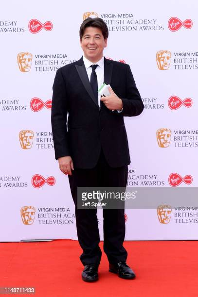Michael McIntyre attends the Virgin Media British Academy Television Awards 2019 at The Royal Festival Hall on May 12, 2019 in London, England.
