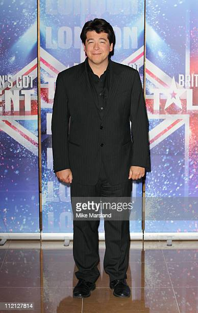 Michael McIntyre promotes the new 'Britain's Got Talent' series for ITV at May Fair Hotel on April 13, 2011 in London, England.