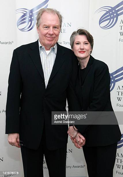 Michael McKean and Annette O'Toole attend the 2012 American Theatre Wing Jonathan Larson Grants Presentation at the Jerome Greene Space on March 27...