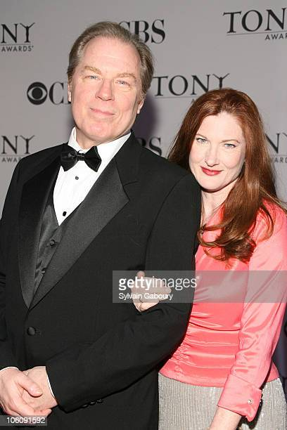 Michael McKean and Annette O'Toole during 60th Annual Tony Awards Arrivals at Radio City Music Hall in New York City New York United States