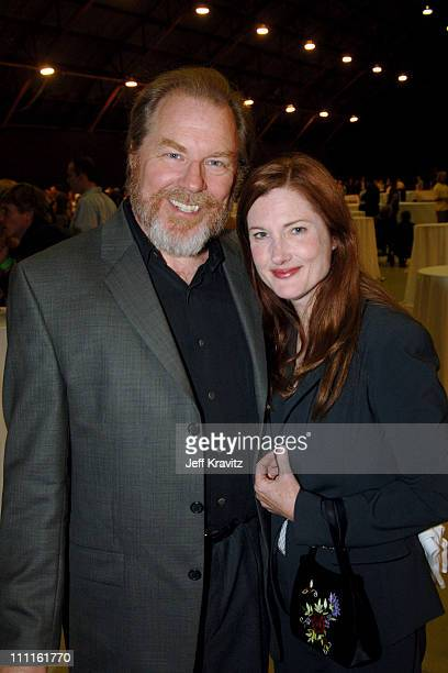 Michael McKean and Annette O'Toole during Support LA Benefit for Hurricane Katrina Relief at Barker Hanger in Santa Monica California United States