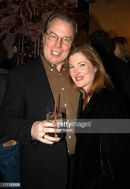Michael McKean and Annette O'Toole during US Comedy Arts Festival Announces Comedy Film Honors at Spago Beverly Hills in Los Angeles California...