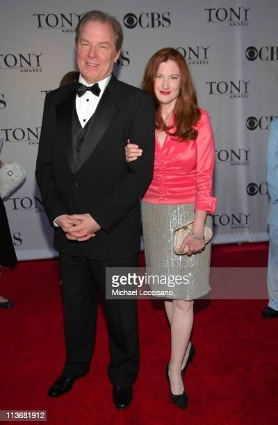 Michael McKean and his wife Annette O'Toole during 60th Annual Tony Awards Arrivals at Radio City Music Hall in New York City New York United States