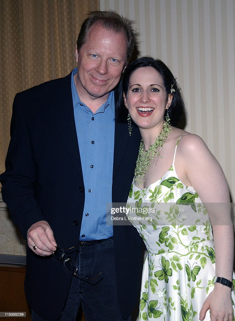 Michael McKean and Stephanie D'Abruzzo during The First Annual 'Show People' Tony Awards Party at Gotham Hall in New York City, New York, United States.