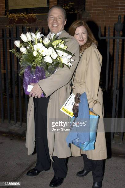 Michael McKean Annette O'Toole during A Second Hand Memory OffBroadway Opening Night at Atlantic Theater Comany in New York City New York United...