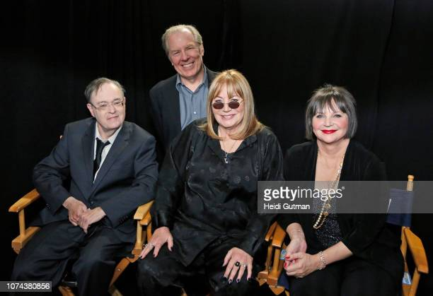 Michael McKean David Lander Penny Marshall Cindy Williams appearing on Walt Disney Television via Getty Images's 'Good Morning America' cast reunion...