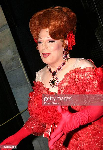 """Michael McKean during Michael McKean Makes His Debut as Edna Turnblad in """"Hairspray"""" on Broadway at The Neil Simon Theater in New York, NY, United..."""