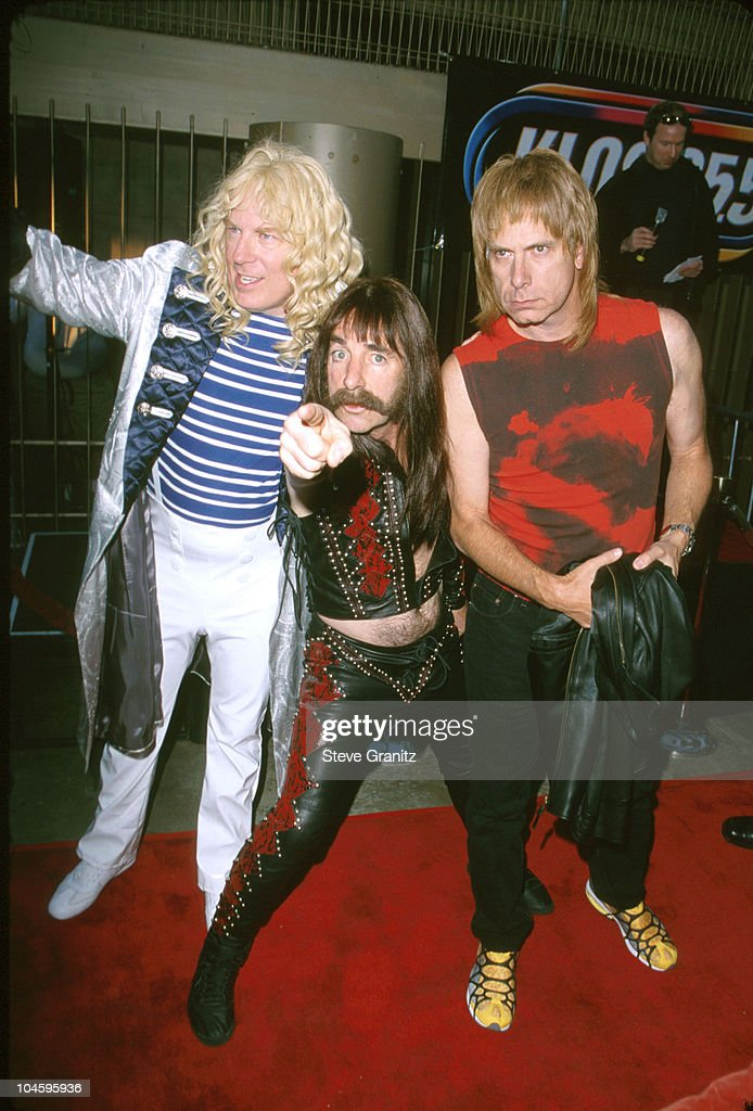 Michael McKean, Harry Shearer and Christopher Guest of Spinal Tap