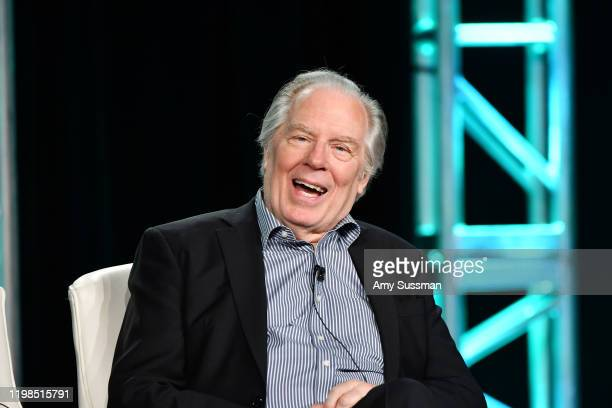 Michael McKean of 'Breeders' speaks during the FX segment of the 2020 Winter TCA Tour at The Langham Huntington, Pasadena on January 09, 2020 in...