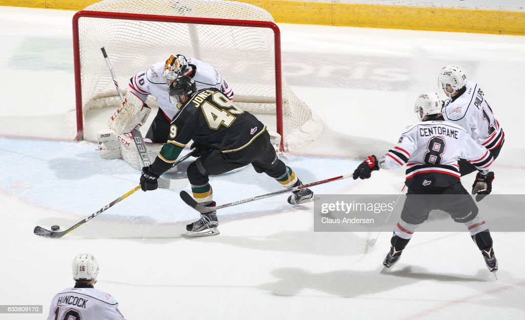 Owen Sound Attack v London Knights : News Photo