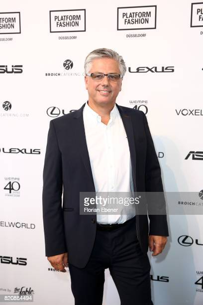 Michael Medweth attends the 3D Fashion Presented By Lexus/Voxelworld show during Platform Fashion July 2017 at Areal Boehler on July 22, 2017 in...
