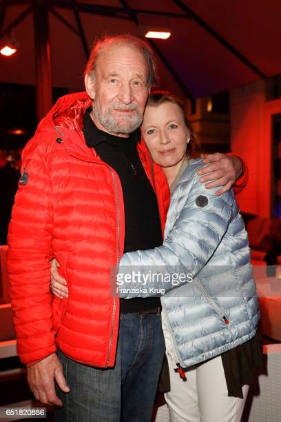 Michael Mendl and Gesine Friedmann attend the 'Baltic Lights' charity event on March 10 2017 in Heringsdorf Germany Every year German actor Till...