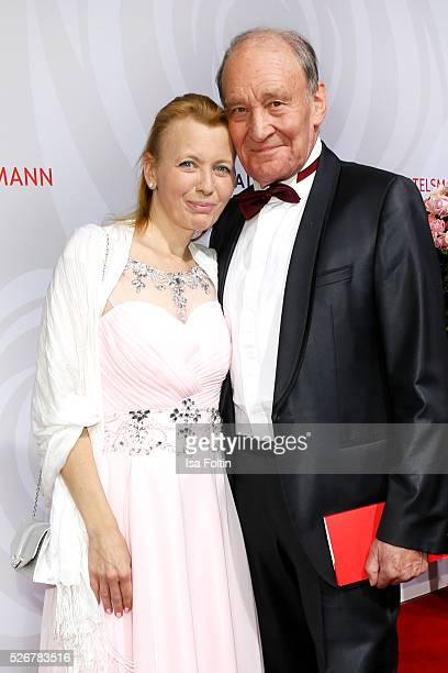 Michael Mendl and Gesine Friedmann attends the Rosenball 2016 on April 30 2016 in Berlin Germany