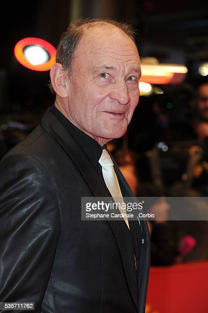 Michael Mendl attends the 'True Grit' Premiere during the 61st Berlin Film Festival at Berlinale Palace