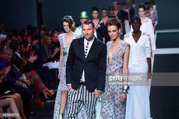 Michael Michalsky walks the runway at the Michalsky Style Night at Tempodrom on July 11 2014 in Berlin Germany