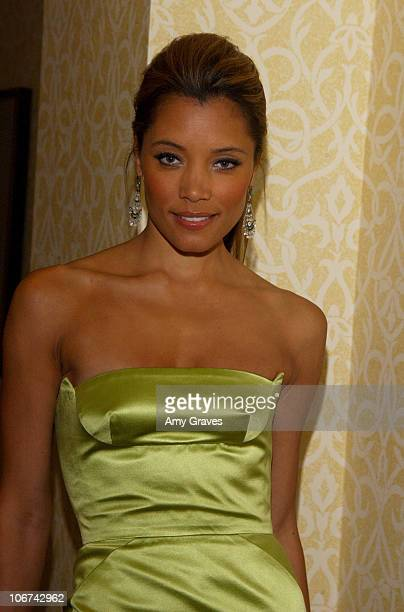 Michael Michele during Mercedes Benz Oscar Viewing Party at Four Seasons Hotel in Beverly Hills California United States