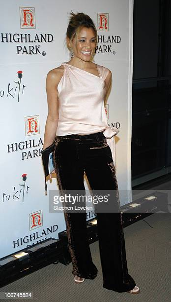 Michael Michele during Sean Connery Hosts Dressed To Kilt to Benefit the Friends of Scotland Arrivals and Show at Sotheby's in New York City New York...