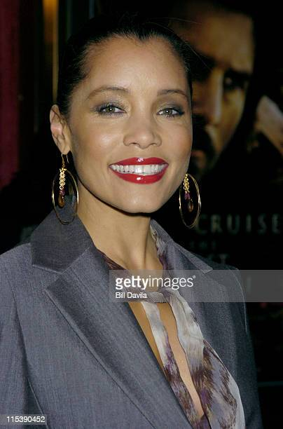 Michael Michele during 'The Last Samurai' New York Premiere at The Zeigfeld Theater in New York City New York United States