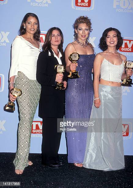 Michael Michele Maura Tierney Alex Kingston and MingNa at the 2nd Annual TV Guide Awards 20th Century Fox Studios Century City