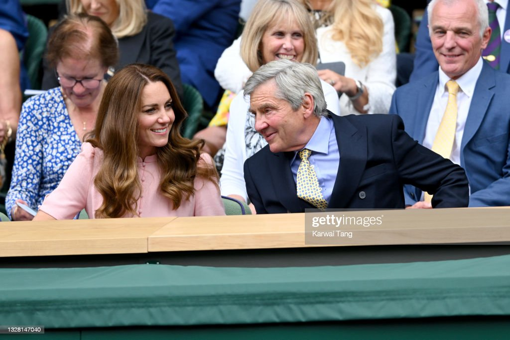 Wimbledon Celebrity Sightings - Day 13 : News Photo