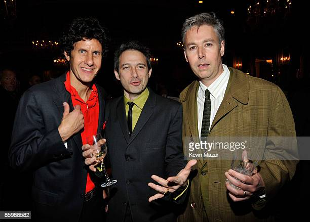 Michael 'Mike D' Diamond Adam 'AdRock' Horovitz and Adam 'MCA' Yauch of The Beastie Boys attends the after party for HBO films presents 'Grey...