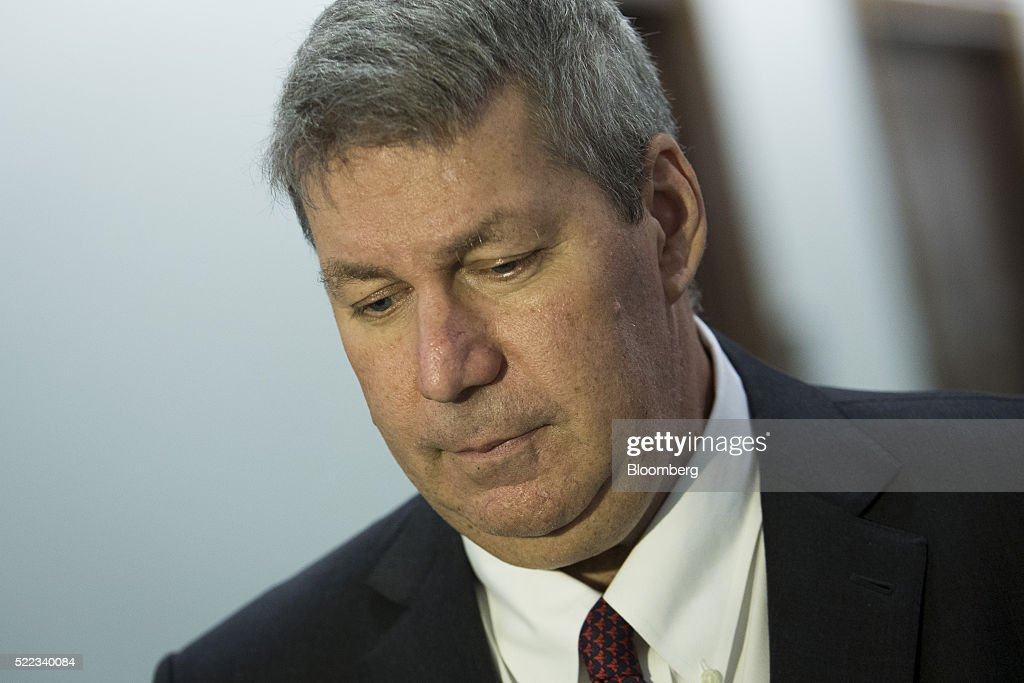 Valeant Chief Executive Officer Mike Pearson To Give Deposition To Senate Committee Investigating Drug Pricing : News Photo