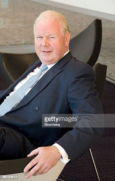 Michael Mike Smith chief executive officer of Australia New Zealand Banking Group Ltd poses for a photograph during an interview in Sydney Australia...