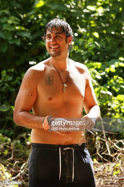 Michael Mikey B Bortone during the first episode of Survivor Micronesia Fans vs Favorites