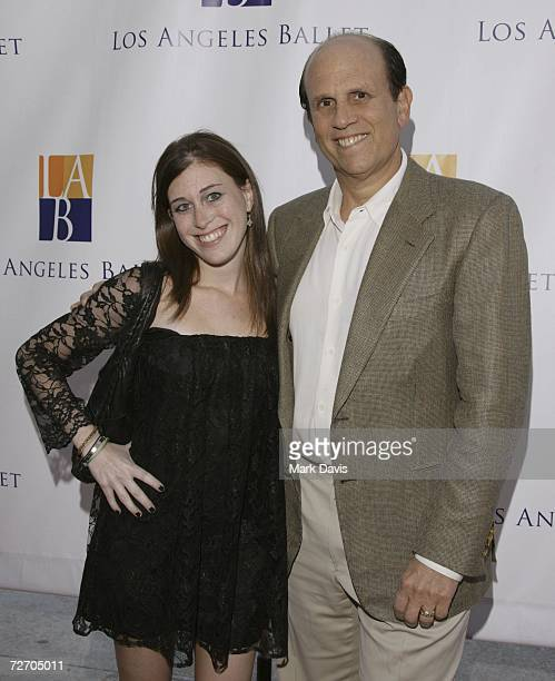 Michael Milken and daughter Bari Milken arrive at the Los Angeles Ballet's Debut of The Nutcracker held at the the Wilshire theater on December 02...