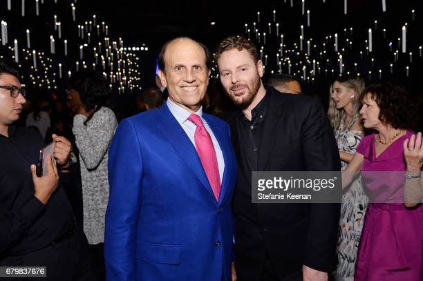 Michael Milken and Sean Parker attend UCLA Mattel Children's Hospital presents Kaleidoscope 5 on May 6 2017 in Culver City California