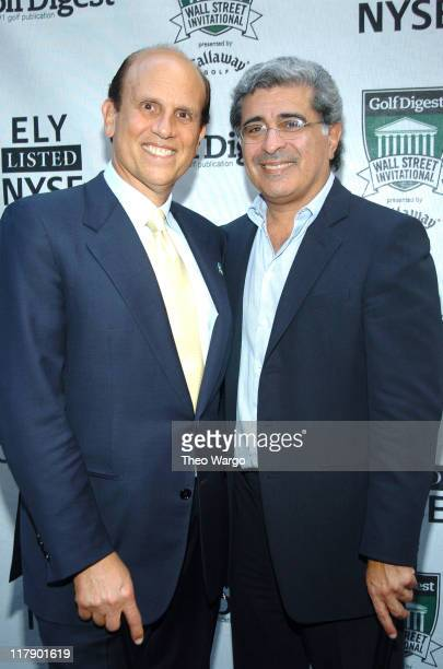 Michael Milken and Terry Semel president and CEO Yahoo