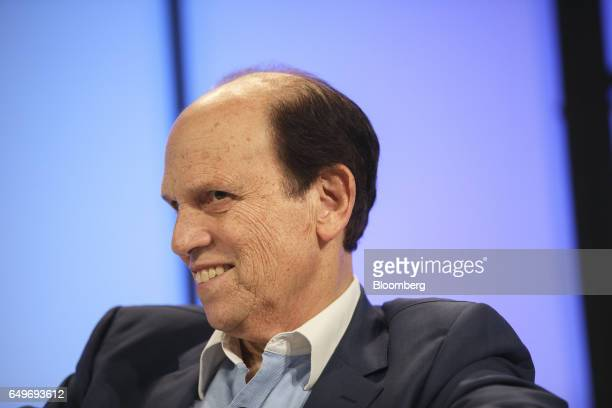 Michael Milken chairman of the Milken Institute listens during the Montgomery Summit in Santa Monica California US on Wednesday March 8 2017 The...