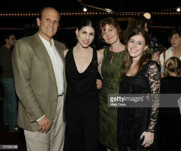 Michael Milken Paloma Herrera Julie Whitaker and Bari Milken pose at the Los Angeles Ballet's Debut of the Nutcracker after party held at the...