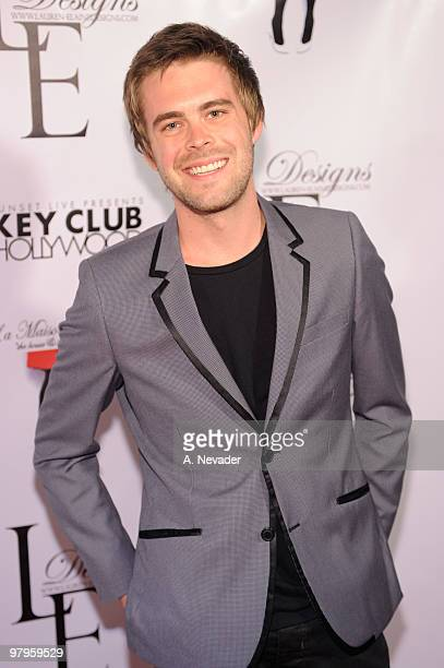 Michael Miller attends LA Rocks Fashion Week Lauren Elaine Fall 2010 Black Label at the Key Club on March 22 2010 in West Hollywood California