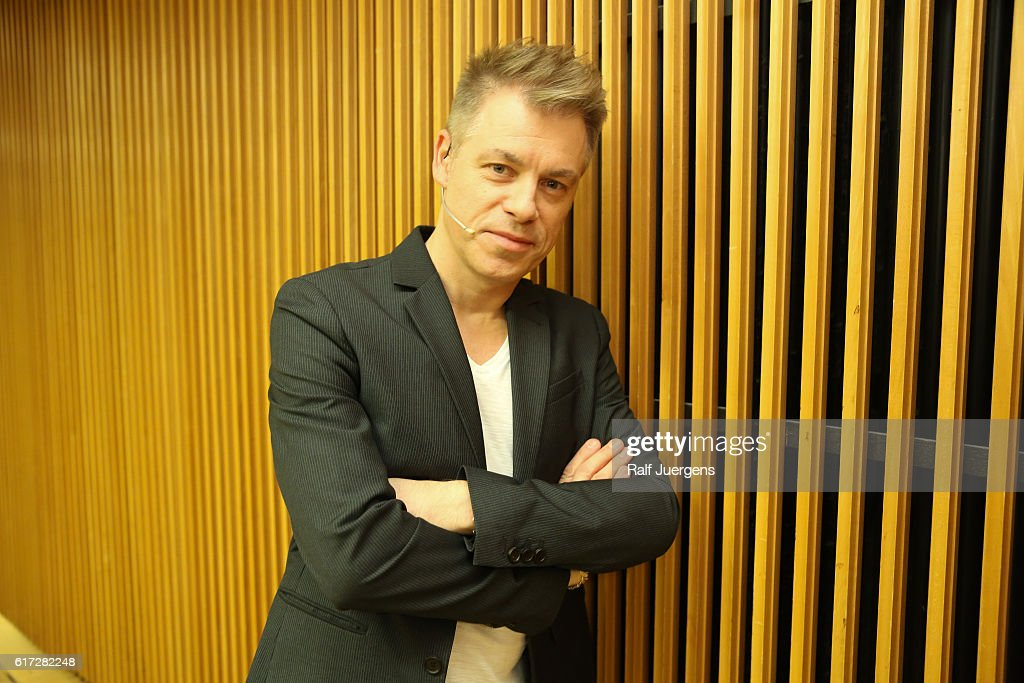 Michael Mittermeier attends a reading during the lit. Cologne at `WDR Funkhaus´ on October 22, 2016 in Cologne, Germany.