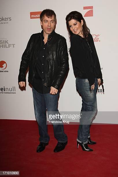 Michael Mittermeier Und Ehefrau Gudrun Mittermeier Beim Charity Dinner Der Stiftung Musik Hilft Im Humboldt Umspannwerk In Berlin
